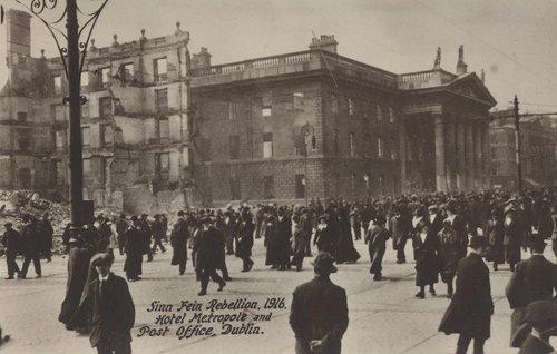 El edifico GPO en el año 1916